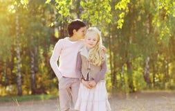 Adolescents de couples Photographie stock libre de droits