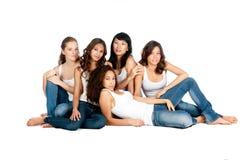 Adolescents divers Photo libre de droits