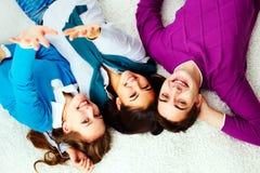 Adolescents enthousiastes images stock