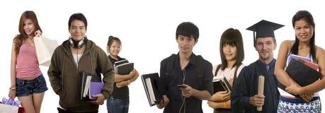Adolescents et jeunes adultes Photographie stock libre de droits