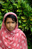 Adolescents girl in India. Royalty Free Stock Photos