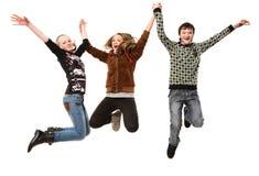 Adolescents heureux images libres de droits