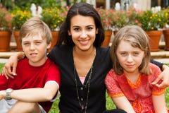 Adolescents heureux Photographie stock libre de droits