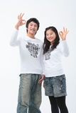 Adolescents II Photos libres de droits