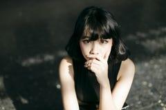 Adoleszenz-attraktive Schönheits-herrliches Vogue-Konzept Stockbild