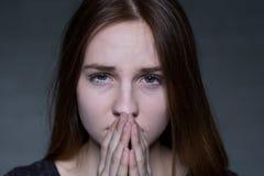 Adoleszenzaltersprobleme Lizenzfreie Stockfotos