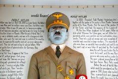 Adolf Hitler雕象  免版税库存照片
