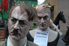 Adolf Hitler puppet Stock Photo
