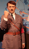 Adolf Hitler. Wax statue at Madame Tussauds in London royalty free stock image