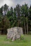 adolf konkretne Hitlera niszczy s werwol zamieszkania Zdjęcia Stock