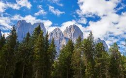 Adolf Munkel Trail em Itália Imagens de Stock Royalty Free