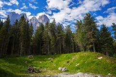 Adolf Munkel Trail en Italia Fotos de archivo