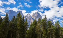 Adolf Munkel Trail i Italien Royaltyfria Bilder