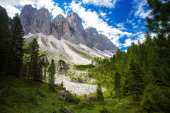Adolf Munkel Trail in Italien Lizenzfreies Stockfoto