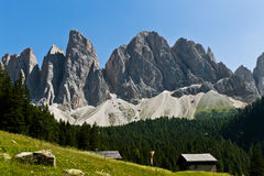 Adolf Munkel Way, South Tyrol Stock Images