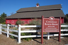 Adolfo Camarillo Ranch House Stock Photo