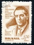 Adolfo Lopez Mateos de México Fotos de archivo