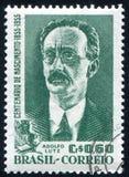 Adolfo Lutz imprimió por el Brasil Imagen de archivo libre de regalías