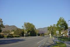 Adolfo Street, Camarillo, CA Foto de archivo libre de regalías
