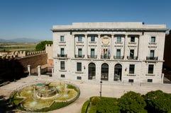 Adolfo Suarez Plaza - Ávila - España Fotos de archivo
