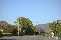 Adolfo ulica, Camarillo, CA Zdjęcia Stock