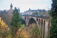 Adolphe-Brücke Lizenzfreie Stockfotografie
