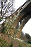 Adolphe Bridge en el valle de Petrusse Ciudad de Luxemburgo luxemburgo Foto de archivo