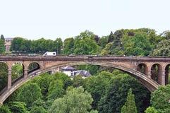 Adolphe bridge Royalty Free Stock Images