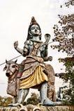 Adolscent Shiva con il suo giro Fotografia Stock Libera da Diritti