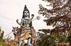 Adolscent Shiva con il suo giro Immagini Stock Libere da Diritti