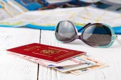 Adonde ir en un viaje durante los días de fiesta Foto de archivo libre de regalías