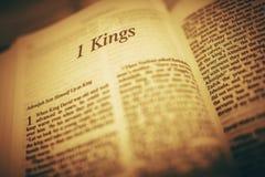 Adonijah ο βασιλιάς Ανάγνωση Βίβλων Στοκ Φωτογραφίες