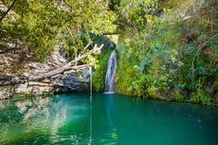 Adonis Baths em Chipre imagens de stock