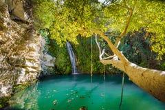 Adonis Baths em Chipre fotos de stock royalty free