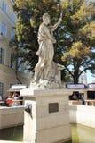 Adonis Fountain - año 1793 de la construcción Foto de archivo