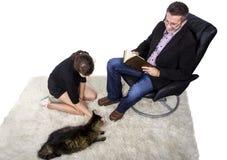 Adopción del animal doméstico Fotografía de archivo