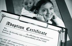 Adopção Fotografia de Stock Royalty Free