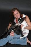 Adopte un animal doméstico Imágenes de archivo libres de regalías