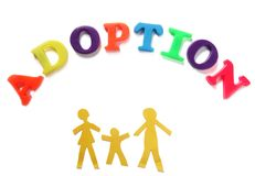 adoption images stock