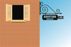 Adoption Agency Royalty Free Stock Photo