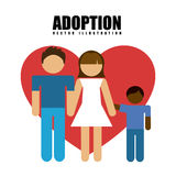 Adoption concept Royalty Free Stock Photo
