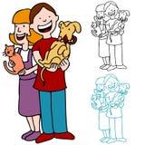 Adoption d'animal familier Photographie stock