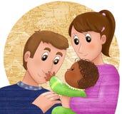 Adoption Illustration Stock Images