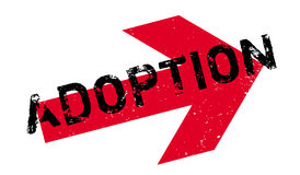 Adoption rubber stamp Royalty Free Stock Photography