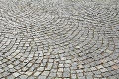 Adoquín de pavimentación Foto de archivo libre de regalías