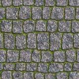 Adoquín del granito. Textura inconsútil de Tileable. Foto de archivo
