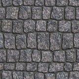 Adoquín del granito. Textura inconsútil de Tileable. Imagen de archivo libre de regalías