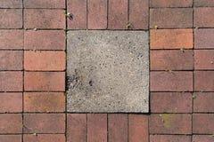 Adoquín en un pavimento Foto de archivo