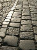 Adoquín en una calle Imagen de archivo libre de regalías