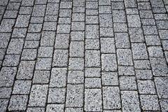 Adoquín - pavimento Imagen de archivo libre de regalías